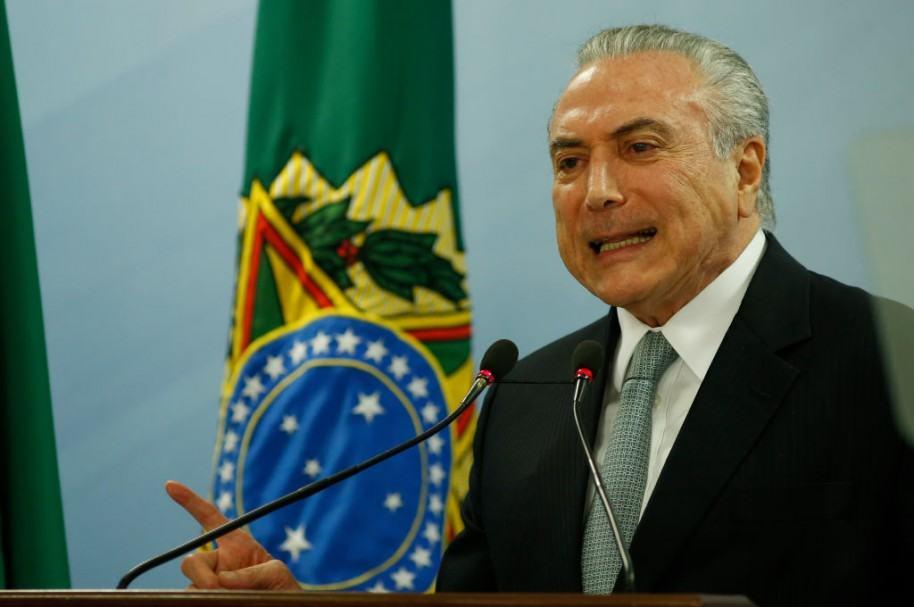 Supervivencia política del presidente brasileño depende del Congreso