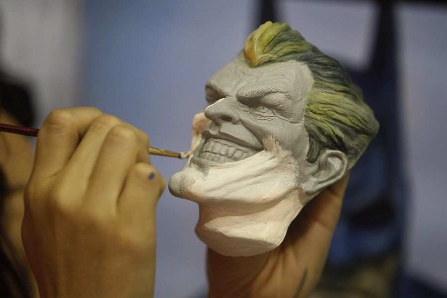 Pintura de máscara.