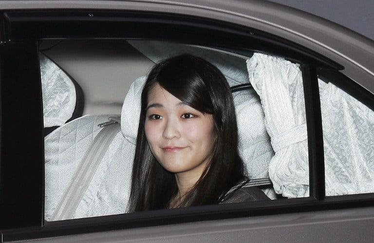 La princesa japonesa Mako, en su casa en Tokio.
