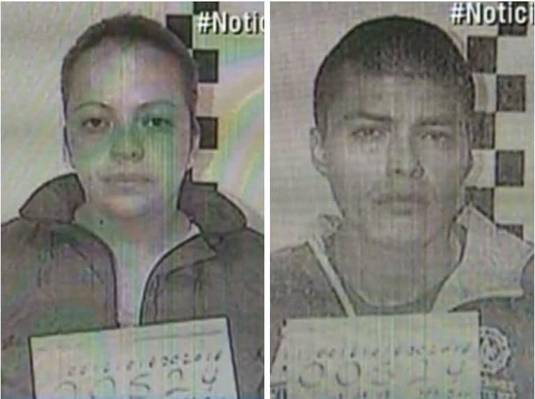 Johana Paola y César Andrés Guevara Velásquez, hermasnos detenidos