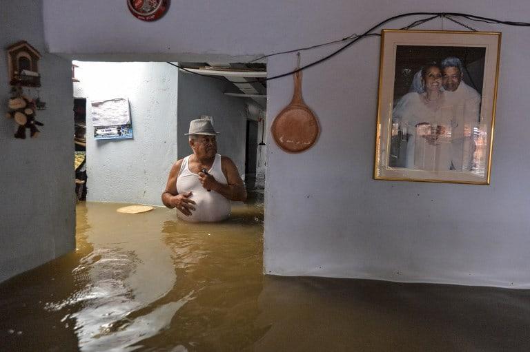 Casa inundada en Cali. Pulzo.com