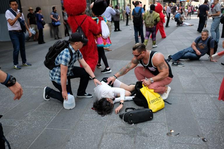 Herido en Nueva York. Pulzo.com