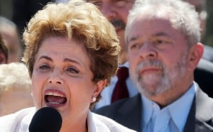 Rousseff y Lula