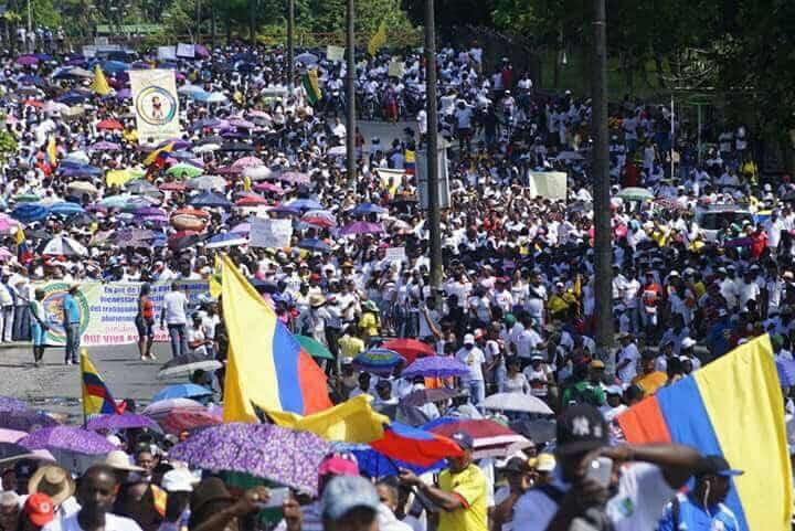 Marchas en Buenaventura