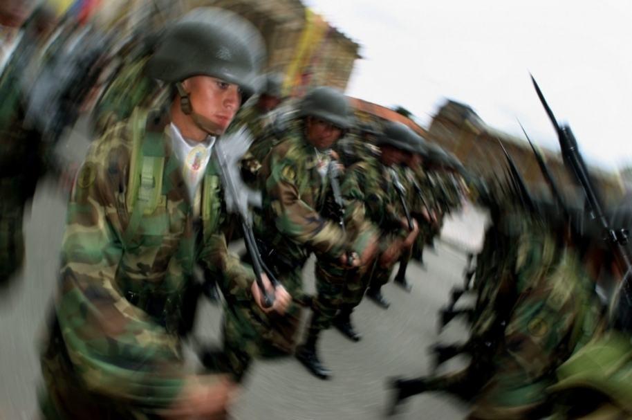 Muerte de soldado en Bogotá