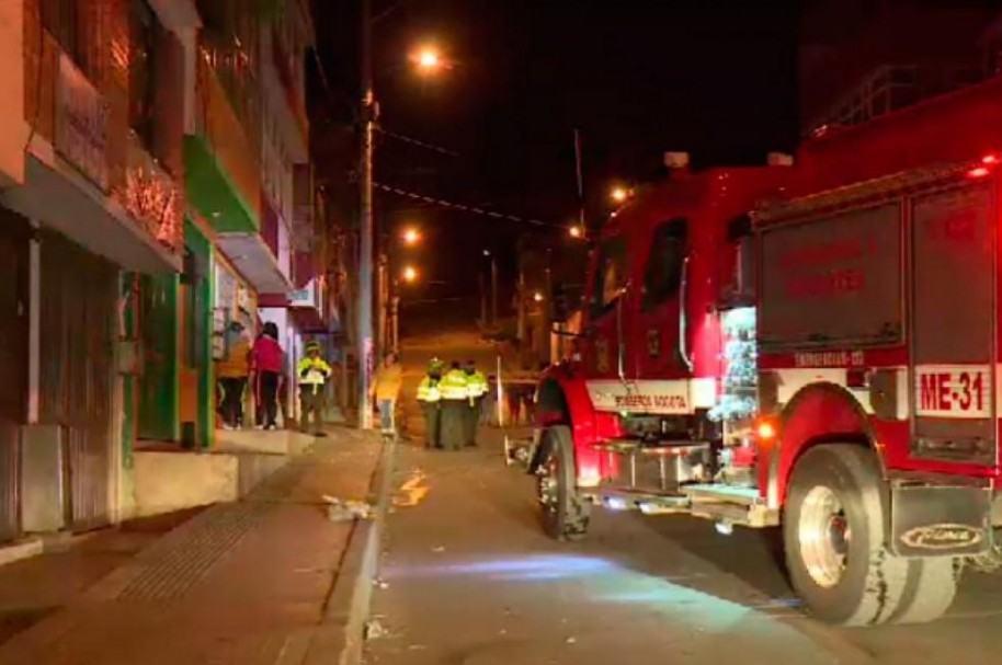 Este fue el supermercado atacado, en el sur de Bogotá