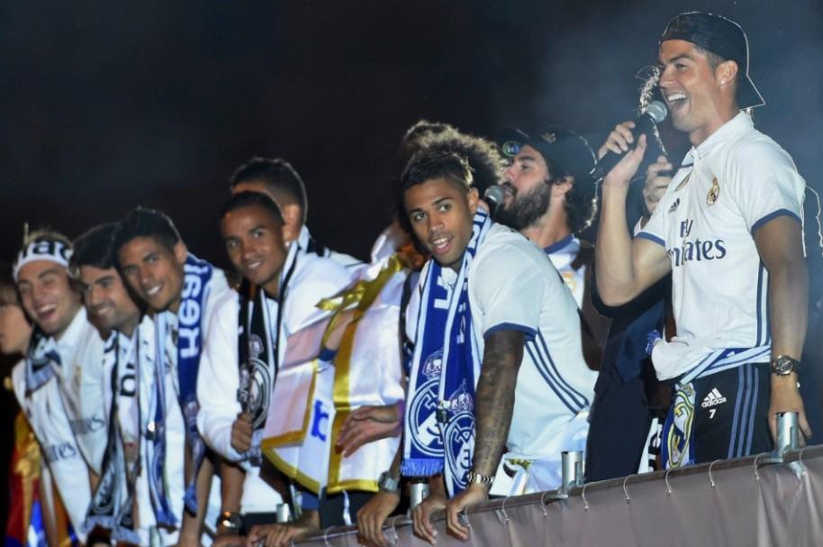 Celebración de Real Madrid