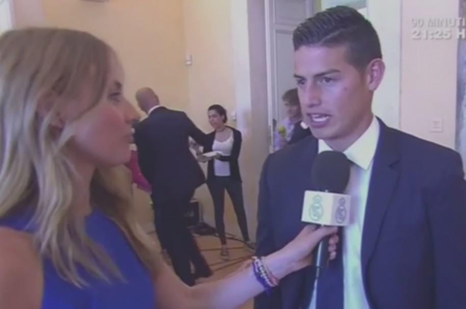 James en declaraciones a Real Madrid