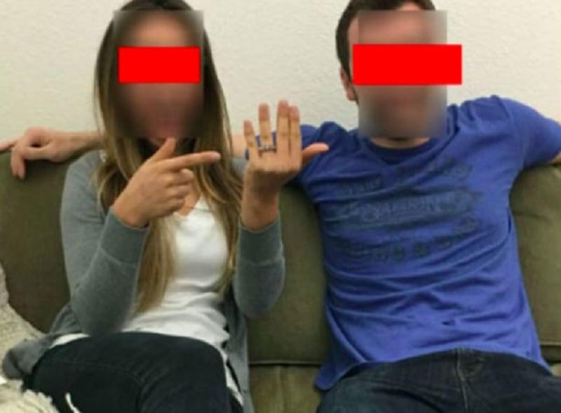 Pareja anuncia compromiso y embarazo en Facebook