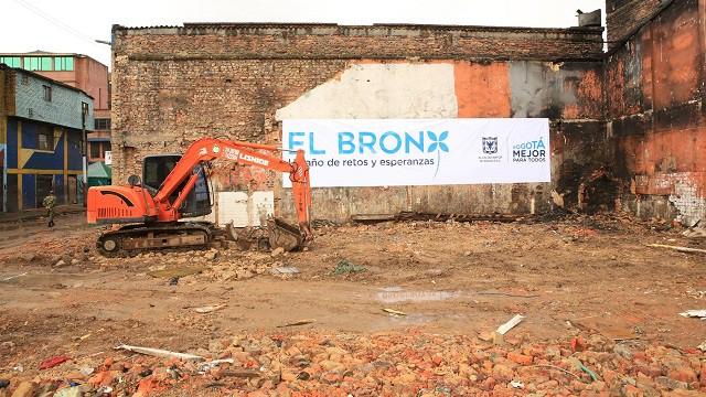 Intervención en el Bronx