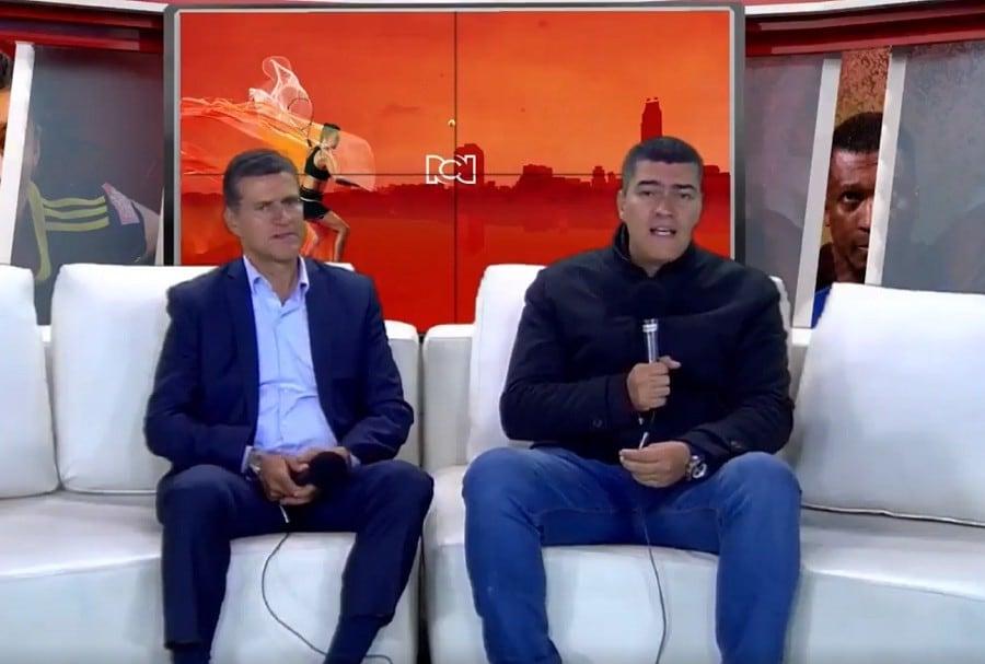 Ricardo Henao y Eduardo Luis
