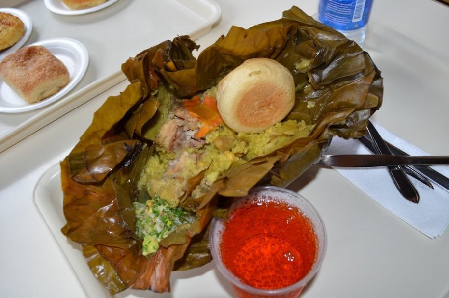 Tamal colombiano