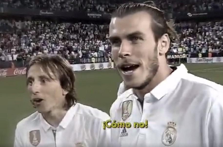 Modric y Bale