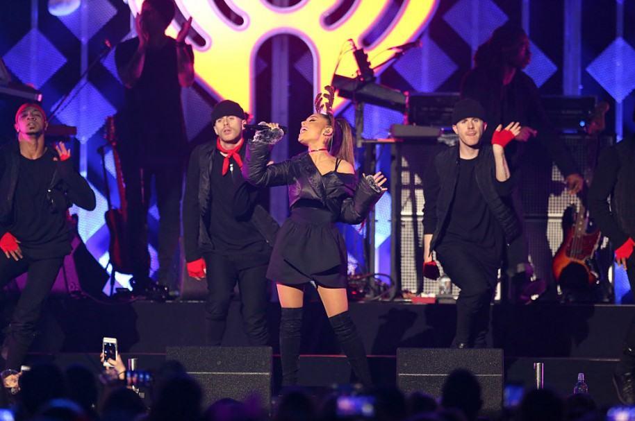 Ariana Grande, en concierto