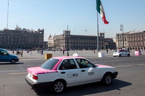 Taxi México.