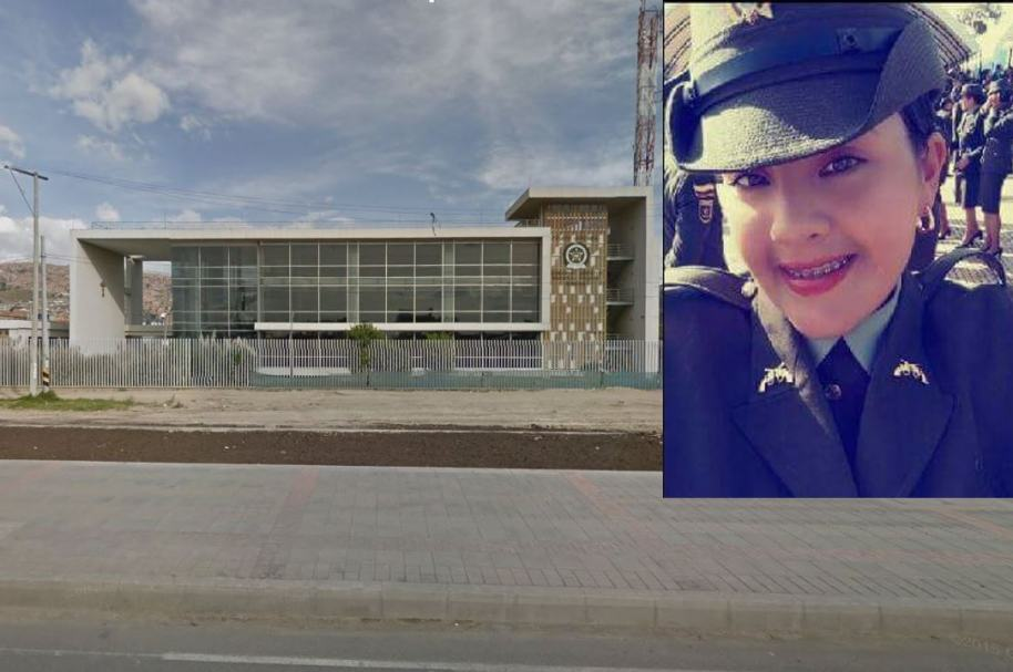 Estación de Policía de Soacha (Cundinamarca). Patrullera Laura Valentina Talero Martínez