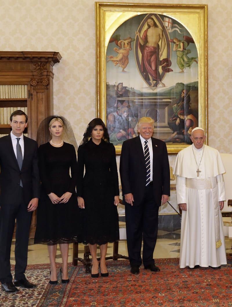 Foto en el Vaticano