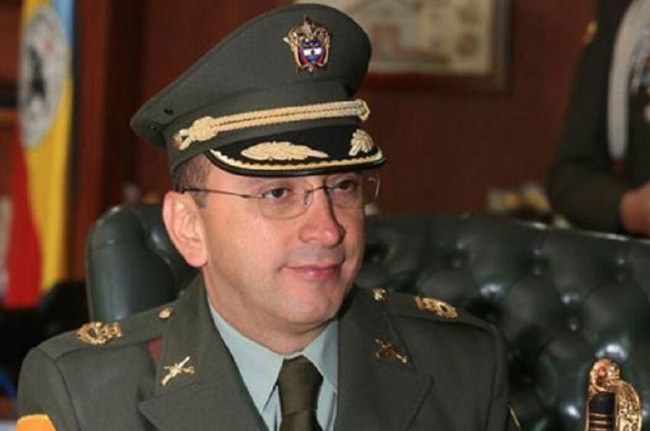 Coronel Edwin Chavarro, comandante de la Policía de Cundinamarca