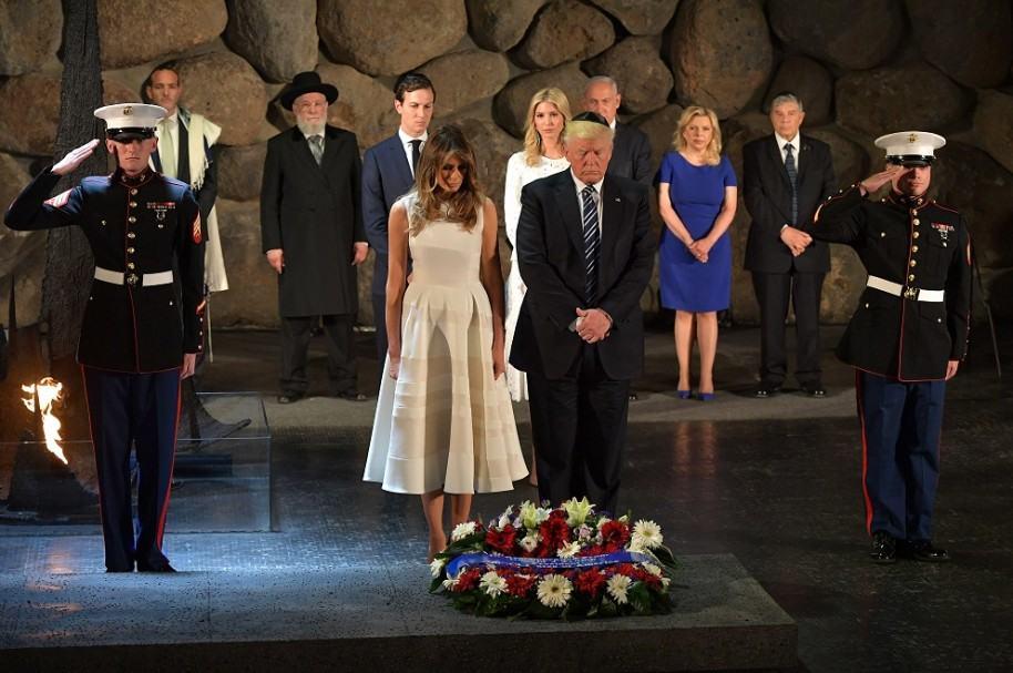 Melania y Donald Trump en Israel