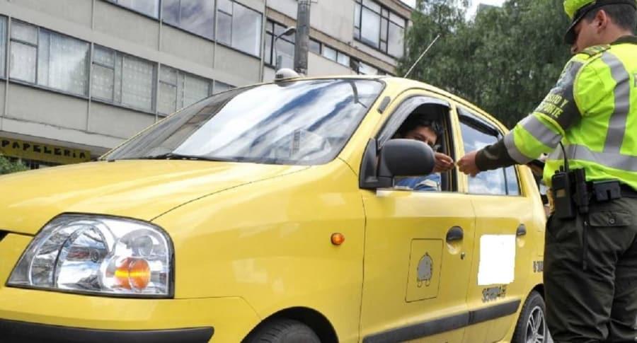 Taxista Niega servicio