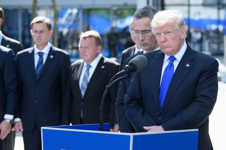 Trump en cumbre de la Otan