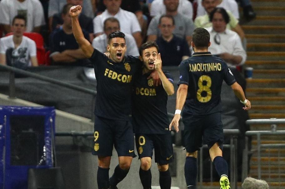Falcao, Bernardo Silva y Mourinho