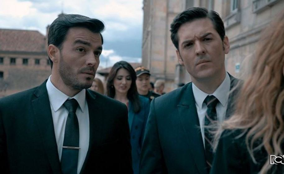 Luciando D'Alessandro y Rodrigo Candamil