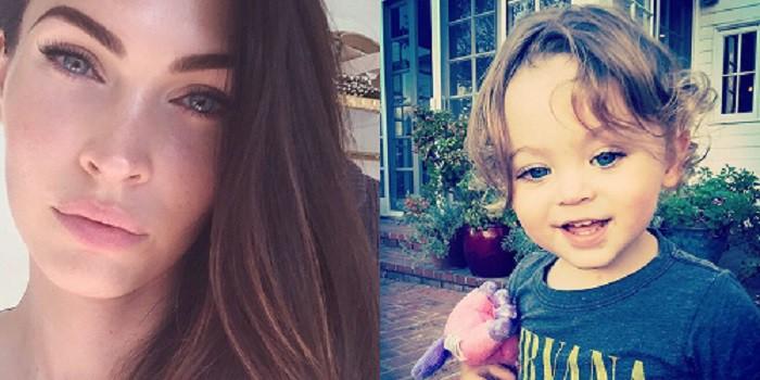 Megan Fox y su hijo Noah