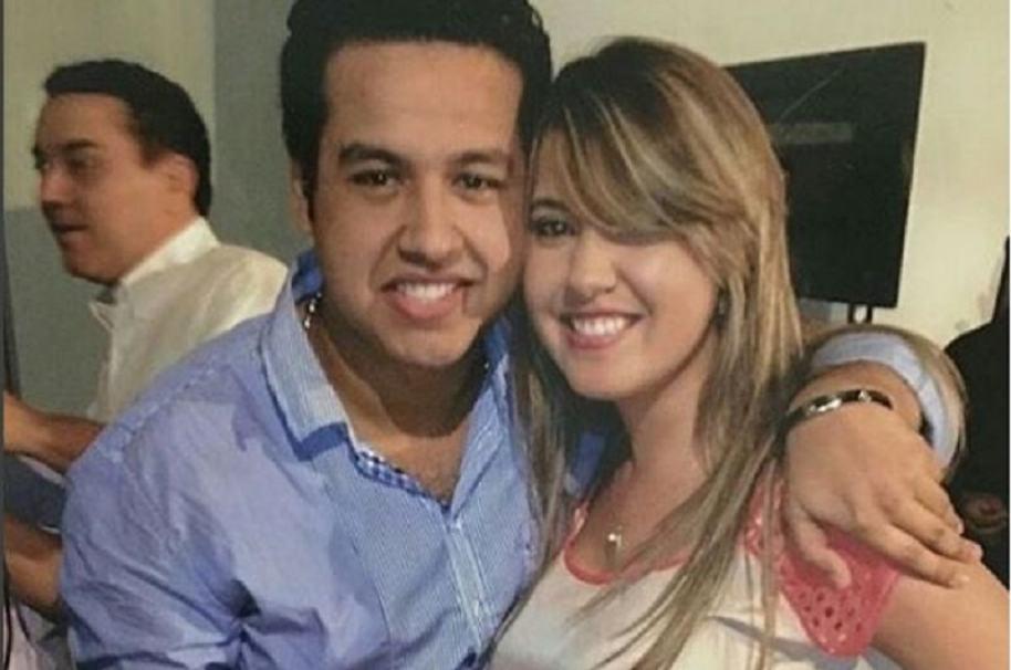 Dayana Jaimes y el cantante fallecido Martín Elías