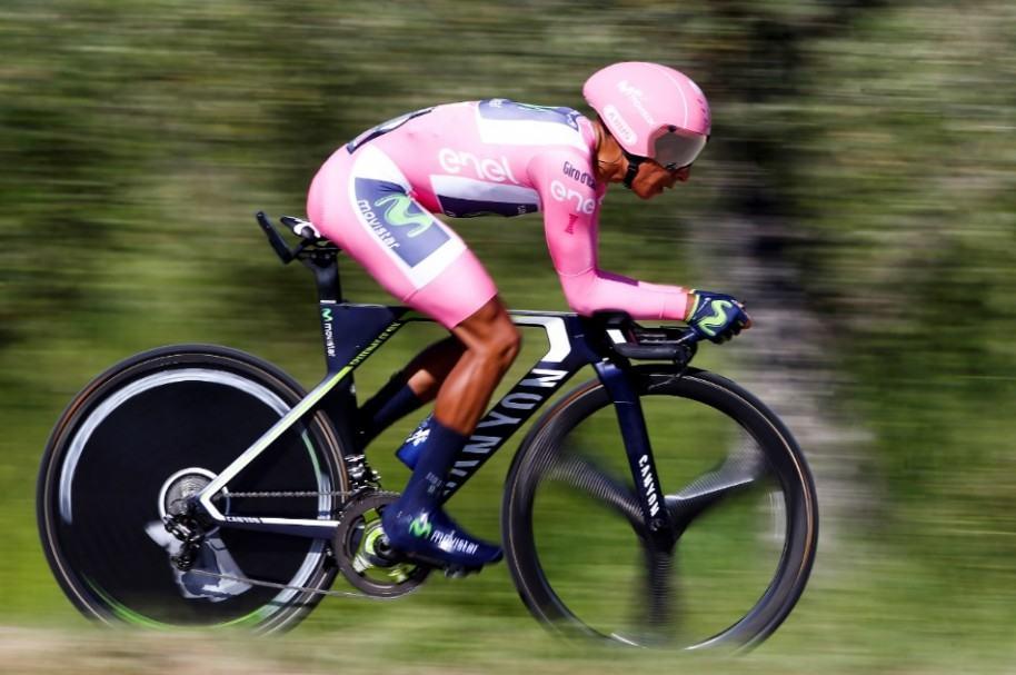 Nairo en contrarreloj del Giro