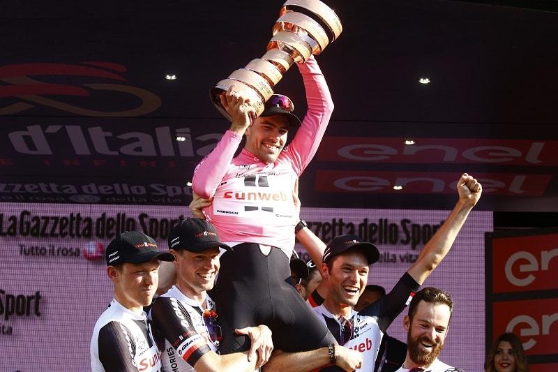 Tom Dumoulin, ganador del Giro 2017