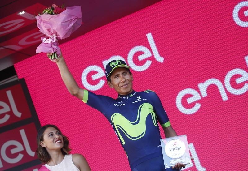 Nairo Quintana, subcampeón del Giro 2017