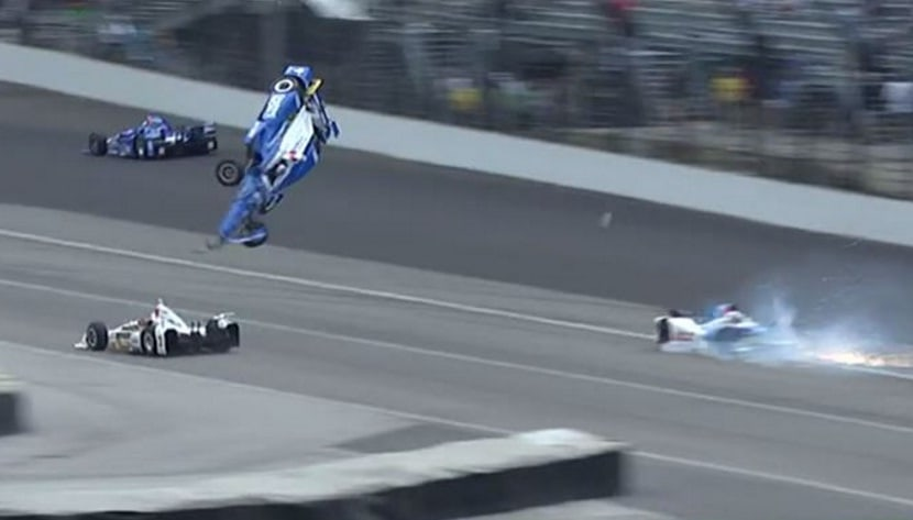 Accidente Indy500