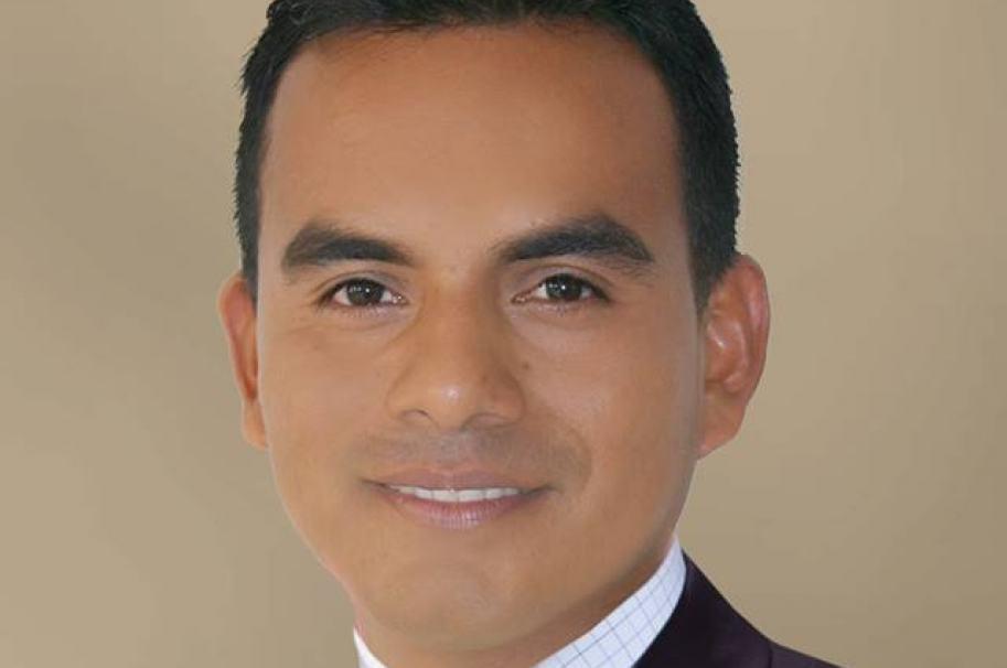 Carlos Adelmo Secue Canas, actual presidente del Concejo de Puerto Guzmán