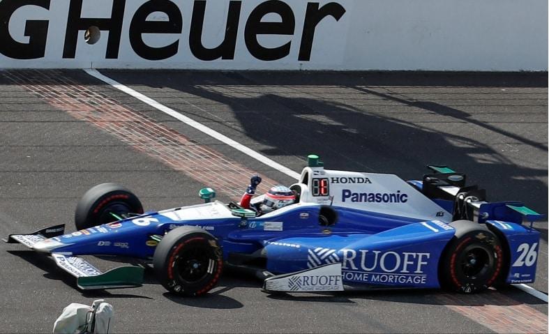 Takuma Sato ganó Indy 500