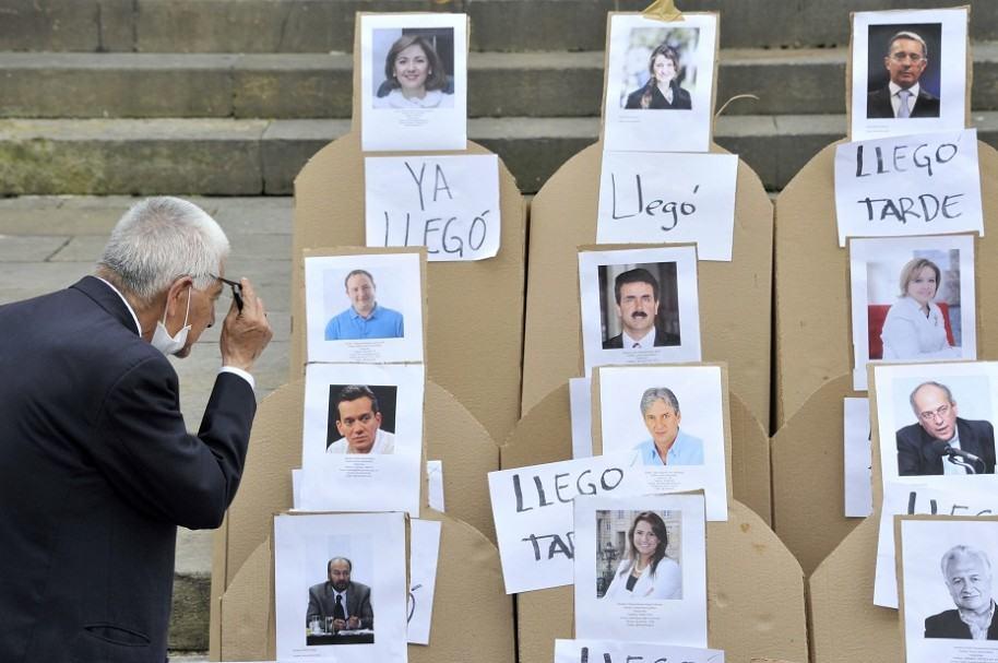 Encuestas de opinión en Colombia
