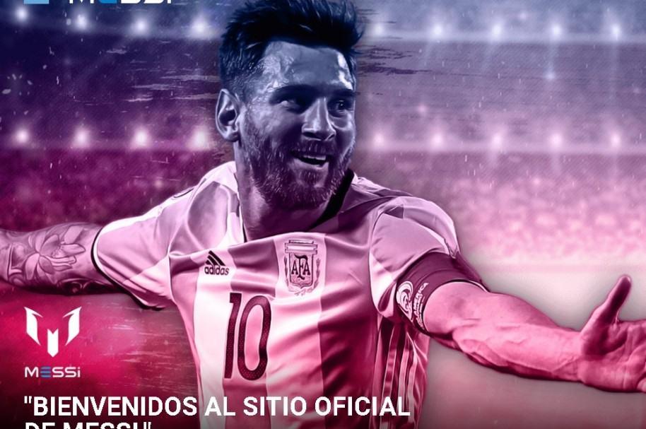 Messi.com, el sitio oficial de Leo Messi