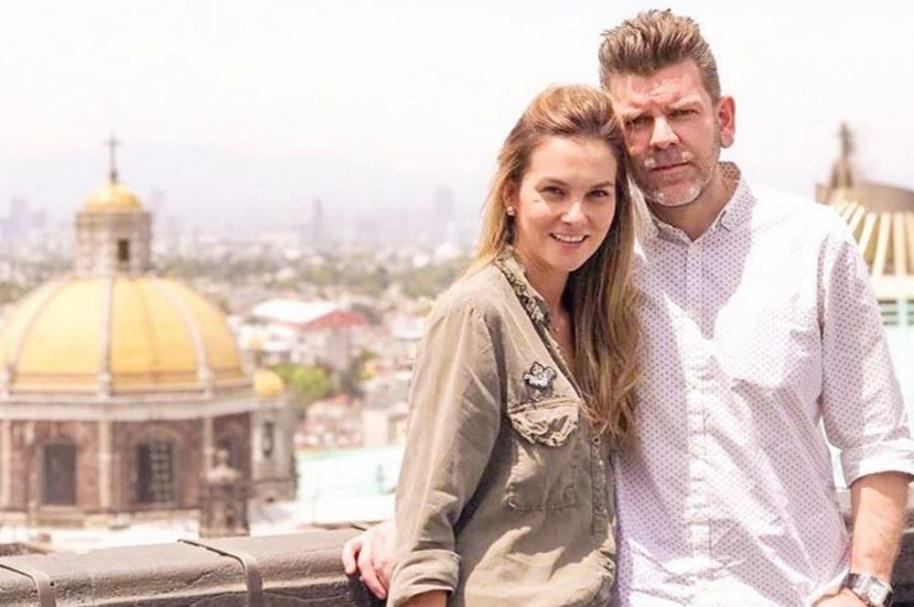 Catalina Gómez, presentadora de 'Día a día', y su esposo Juan Estaban Sampedro, gerente de entretenimiento de Caracol.