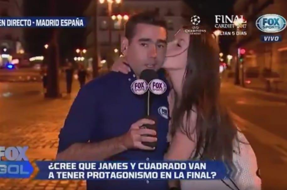 Daniel Angulo, periodista de Fox Sports Colombia
