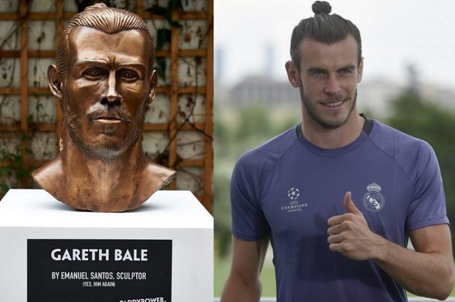 Escultura Gareth Bale