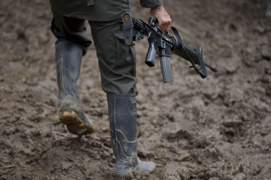 Militar herido en zona veredal