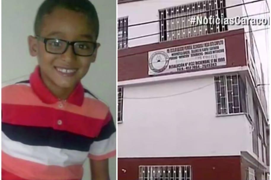 Santiago Díaz, de 8 años.