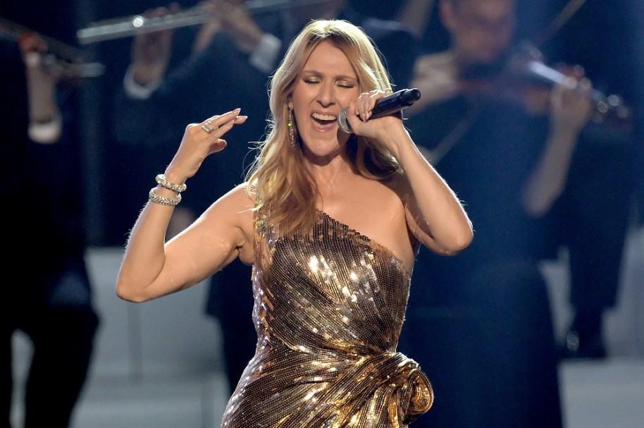 Céline Dion, cantante.