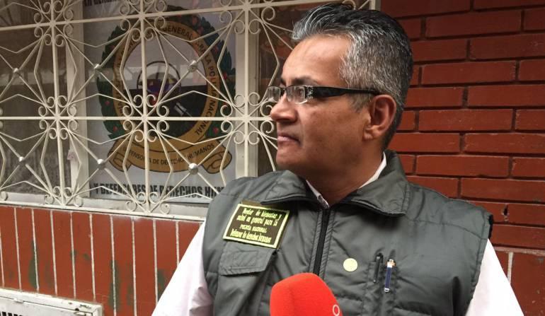 Armando Vergara, veedor de la Policía que denuncia amenazas