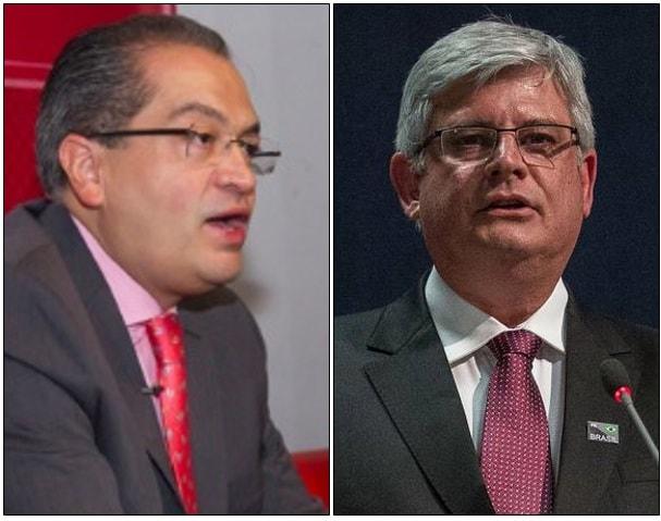 Fernando Carrillo Flórez y Rodrigo Janot Monteiro