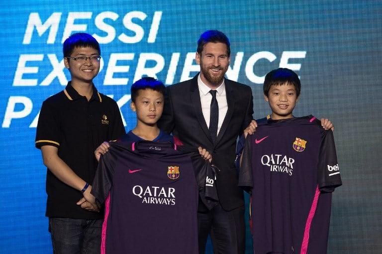 Messi y sus fanáticos