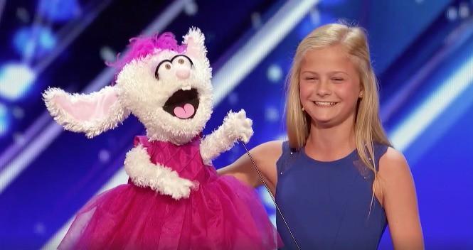 Audición de niña ventrílocua Darci Lynne Farmer en America's Got Talent. Pulzo.com