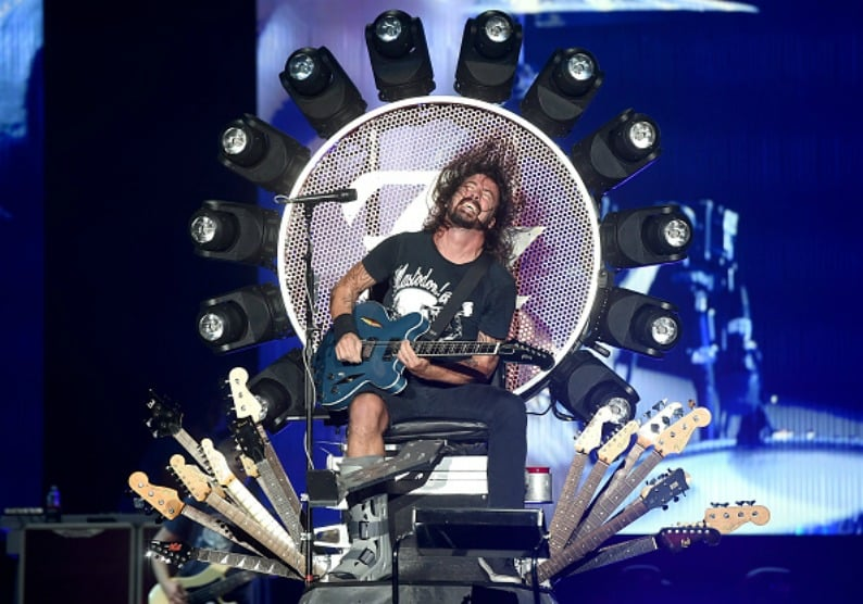 Dave Grohl. Pulzo.com