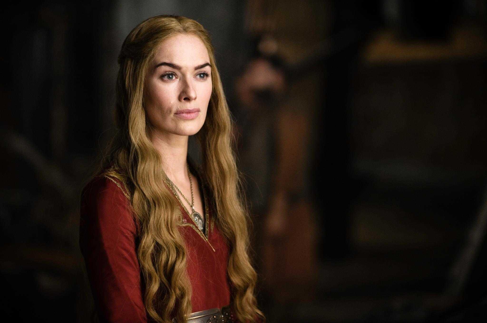 Lena Headey como Cersei Lannister.