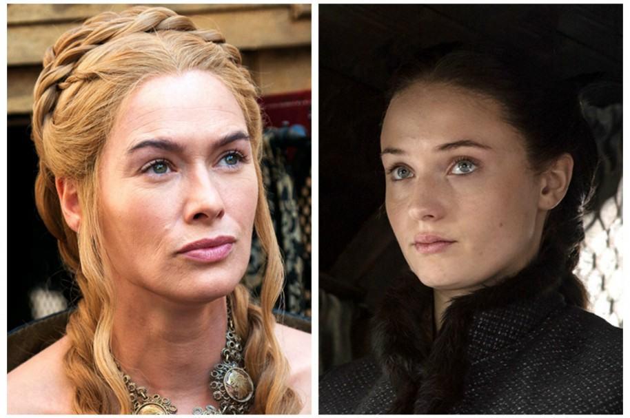 Cersei Lannister y Sansa Stark. Pulzo.com